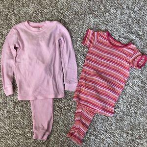 Little girls pajama bundle